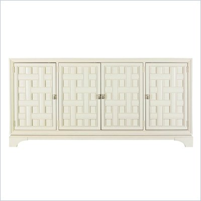 Stanley Furniture Continuum Wood Buffet in Creme
