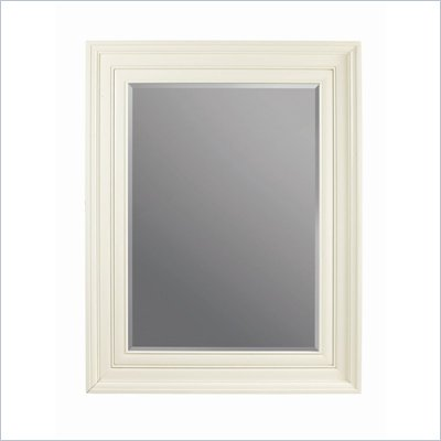 Stanley Furniture Continuum Wood Framed Decorative Mirror in Creme