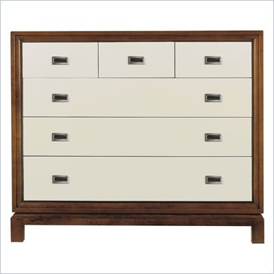 Stanley Furniture Continuum Accent Chest in Creme