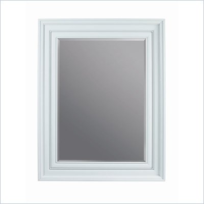 Stanley Furniture Continuum Wood Framed Decorative Mirror in Ocean Finish