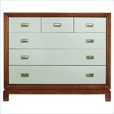 Stanley Furniture Continuum Accent Chest in Ocean
