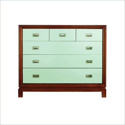 Stanley Furniture Continuum 6 Drawer Accent Chest in Ocean Finish