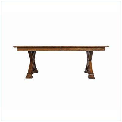 Stanley Furniture Continuum Casual Dining Table in Candlelight Cherry Finish