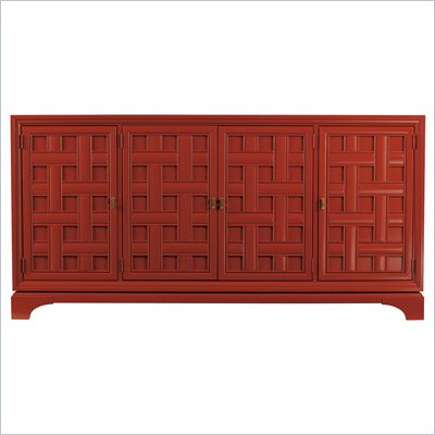 Stanley Furniture Continuum Buffet in Cinnabar
