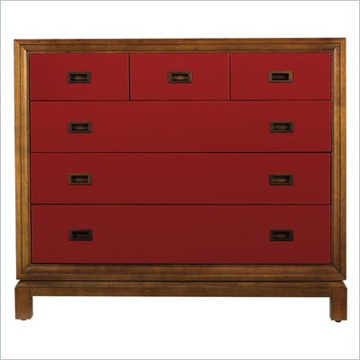 Stanley Furniture Continuum Accent Chest in Cinnabar