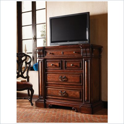 Stanley Furniture Costa Del Sol Barcelona Media Chest in Cordova