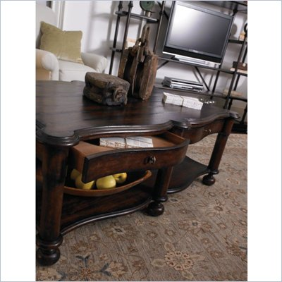 Stanley Furniture European Farmhouse Conversation Table in Terrian