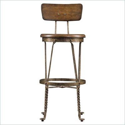Stanley Furniture European Farmhouse Artisan's Barstool in Blond