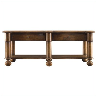Stanley Furniture European Farmhouse Salon Conversation Table in Blond