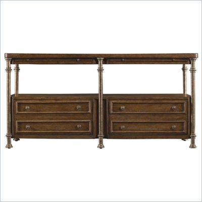 Stanley Furniture European Farmhouse Patron's Console in Blond