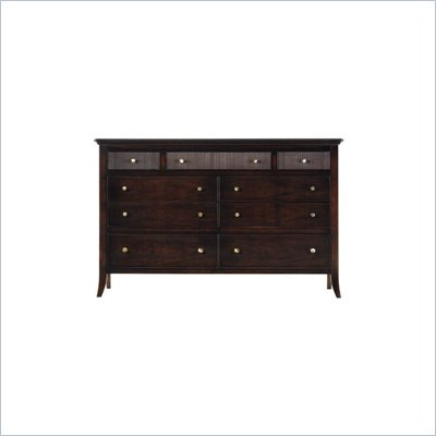 Stanley Furniture Hudson Street Dark Espresso Tribeca Double Dresser