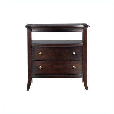 Stanley Furniture Hudson Street Dark Espresso Bachelor's Chest