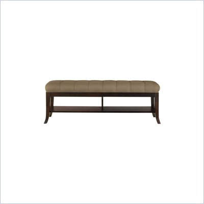 Stanley Furniture Hudson Street Dark Espresso Bed End Bench