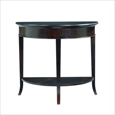 Stanley Furniture Hudson Street Dark Espresso Demi Lune Console II
