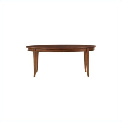 Stanley Furniture Hudson Street Riverside Casual Dining Table in Warm Cocoa Finish