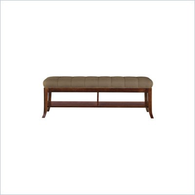 Stanley Furniture Hudson Street Warm Cocoa Bed End Bench