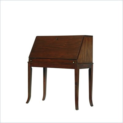 Stanley Furniture Hudson Street Warm Cocoa Mercantile Drop Front Secretary Desk
