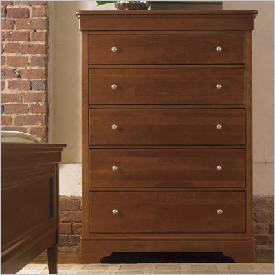 Stanley Furniture Louis Louis 6 Drawer Chest in Grande Marnier Finish