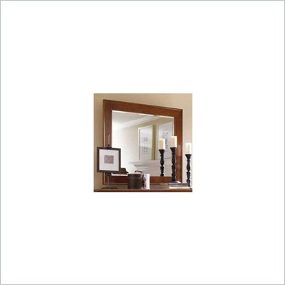 Stanley Furniture Louis Louis Cherry Landscape Mirror in Grand Marnier Finish