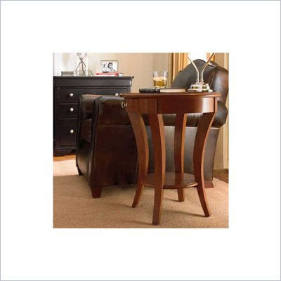 Stanley Furniture Louis Louis Martini Cherry End Table in Grande Marnier Finish