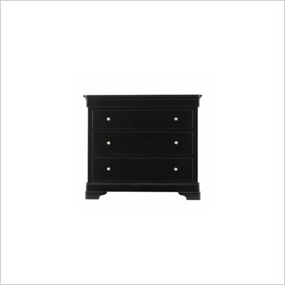 Stanley Furniture Louis Louis Black Opal Bachelor's Chest