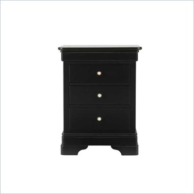 Stanley Furniture Louis Louis Black Opal Night Stand
