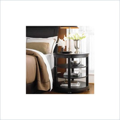 Stanley Furniture Louis Louis Black Opal Looking Glass Night Stand