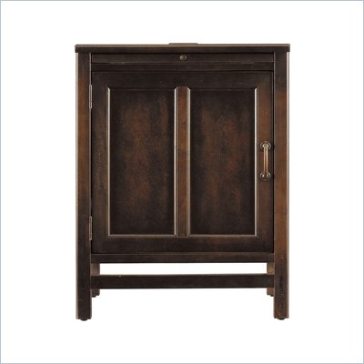 Stanley Furniture Modern Craftsman Woodworker's Door Front Cabinet