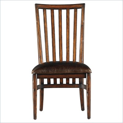 Stanley Furniture Modern Craftsman Farms Side Chair in Saddle