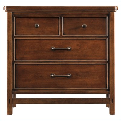 Stanley Furniture Modern Craftsman Cabinetmaker's Bachelor's Chest