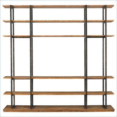 Stanley Furniture Modern Craftsman Robie House Screen in Driftwood