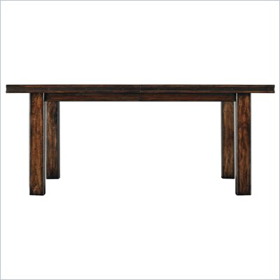Stanley Furniture Modern Craftsman Exhibition Society Table in Tobacco