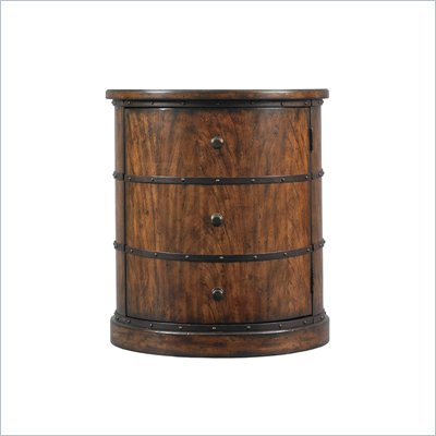 Stanley Furniture Modern Craftsman Kelmscott Press Drum Table