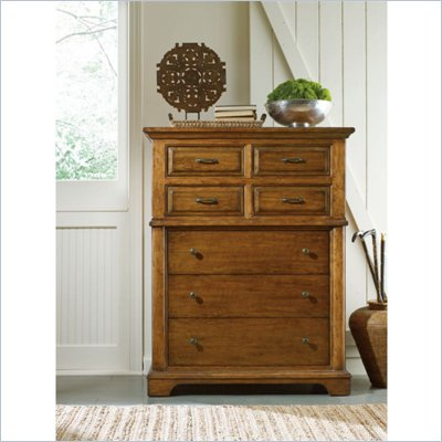 Stanley Furniture Portfolio Bedroom Bungalow Drawer Chest in Straw