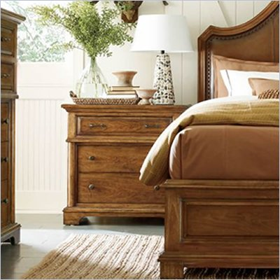 Stanley Furniture Portfolio Bedroom Bungalow Bachelor's Chest in Straw
