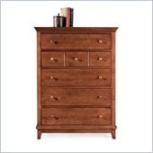 American Drew Sterling Pointe 5 Drawer Chest in Cherry Finish