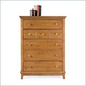 American Drew Sterling Pointe 5 Drawer Chest in Maple Finish