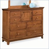 American Drew Sterling Pointe 8 Drawer Double Dresser in Cherry