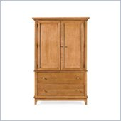 American Drew Sterling Pointe Door Chest Armoire in Maple