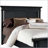 American Drew Sterling Pointe Panel Headboard in Black