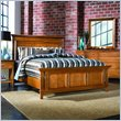 ADD TO YOUR SET: American Drew Sterling Pointe Panel Bed in Maple Finish