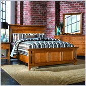 American Drew Sterling Pointe Panel Bed in Maple Finish