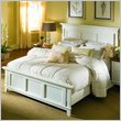 ADD TO YOUR SET: American Drew Sterling Pointe King Size Panel Bed in Off-White Finish
