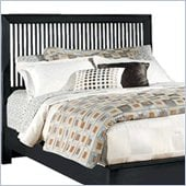 American Drew Sterling Pointe Slat Headboard in Black Finish