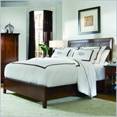American Drew Sterling Pointe Slat Bed in Cherry Finish