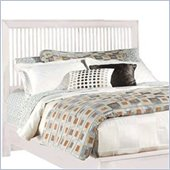 American Drew Sterling Pointe Slat Headboard in Off-White