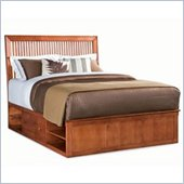 American Drew Sterling Pointe Storage Platform Bed in Cherry Finish
