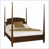 American Drew Sterling Pointe Poster Bed in Cherry Finish