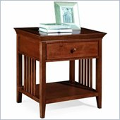 American Drew Sterling Pointe Single Drawer Nightstand in Cherry