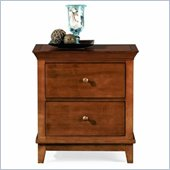 American Drew Sterling Pointe Two Drawer Nightstand in Cherry